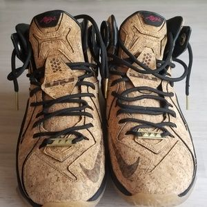 Lebron 12 cork mens sneakers